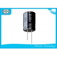 Wholesale Standard Frequency Radial 1000uf Electrolytic Capacitor Black For Washing Machines from china suppliers