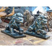 Wholesale 2014 hot sale waterproof fiberglass lion statue from china suppliers