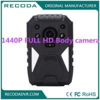 Wholesale Law Enforcement 4G Body Camera , Wide degree wearable police cameras 11 hours from china suppliers