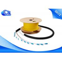 Wholesale Waterproof FTTH Indoor Fiber Optic Patch Cord Armored Steel Tube for Rodent Resistance from china suppliers