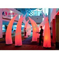 Wholesale 3M High Inflatable Lighting Decoration With LED Light and Blower Air Cone For Event Welcome part from china suppliers