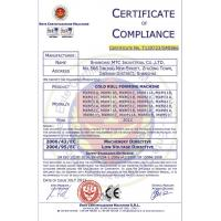 Shanghai MTC Industrial Co., Ltd. Certifications