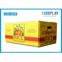 Wholesale Corrugated Large Fruit Packaging Box / Cardboard Gift Boxes  With Customized Logo from china suppliers