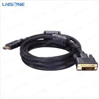 Wholesale Linsone 24+5 pin dvi male cable from china suppliers