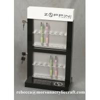 Wholesale Hot selling PMMA office supplies royal acrylic pen display holder from china suppliers