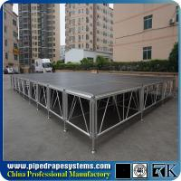 Buy cheap RK 1mx1m square durable stage with aluminum portable frame from wholesalers