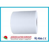 Wholesale Customized Non Woven Roll , Pearl Dot Spunlace Nonwoven Fabric Ventilating from china suppliers