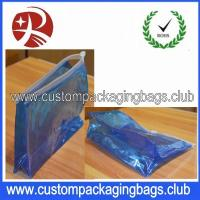 Wholesale Wholesale Low MOQ Waterproof Transparent PVC Custom Packaging Bag With Zipper from china suppliers