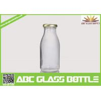 Wholesale Clear milk 200ml glass bottle BPA free from china suppliers