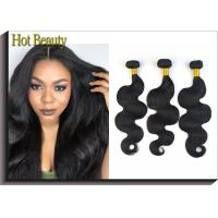 Wholesale 12 Inch Brazilian Virgin Human Hair Bundles Body Wave For Every Beauty Tangle Free from china suppliers