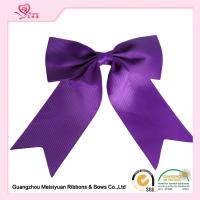 Wholesale Grosgrain Ribbon Material Gift Wrap Bows Purple / Pink big Ribbon Bows from china suppliers