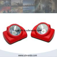 Wholesale 1W Cree LED Cordless Miner Cap Lamp with Cradles and OLED Display from china suppliers