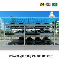 Wholesale 2, 3, 4, 5, 6 Floors Steel Structure for Car Parking Storage System Steel Parking Lot from china suppliers