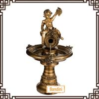 Wholesale angel style countryside poly resin fountain/resin water fountain B058BK+8832BK from china suppliers