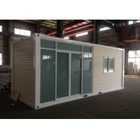 Wholesale Fire proof Prefabricated Portable 20FT Container House For Oil Station With CE , ISO from china suppliers