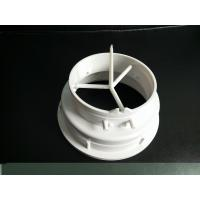 Quality White Color Plastic Connector Plastic Injection Moulded Components High Precision for sale