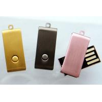 Buy cheap Costom LOGO swivel micro usb flash drives 1GB, 2GB, 4GB, 8GB, 16GB usb stick from wholesalers