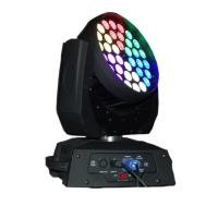 Wholesale 36 X 15W LED Stage Lighting Moving Head With Ringcontrol RGBWA Silent Fan Stage Lights from china suppliers