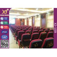 Wholesale School Lecture High Back Auditorium Conference Hall Chairs With Writing Tablet from china suppliers