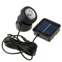 Wholesale Outdoor Solar Powered LED Spotlight Garden Pool Lamp from china suppliers