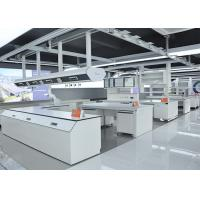 Wholesale Chemical Resistant Grey Modular Laboratory Furniture With Large Sink Cabinet And Desks from china suppliers