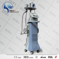 Wholesale 10MHZ 50 Watt Vacuum Slimming Machine Vertical 4 Handles Body Sculpture Machine from china suppliers