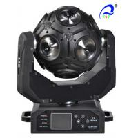 Quality 12 Pcs * 12W LED Beam Football Moving Head Light Disco Lighting 0 - 100% Linear for sale