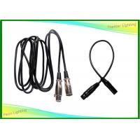 Wholesale Indoor Stage Lighting Parts , Custom 3 Pin Dmx Cable Cord Length from china suppliers