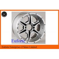 Wholesale SUV 15 inch Silver 4 x 4 Off Road Wheels Lip Aluminum Alloy With Custom Caps from china suppliers