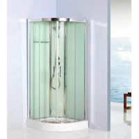 Wholesale Curved Corner Shower Units Free Standing Shower Cubicles For Small Bathrooms from china suppliers