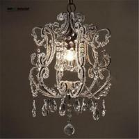 Wholesale Led Crystal chandelier home lighting luminaire lustres de cristal Modern kitchen Dining room Living room chandeliers from china suppliers