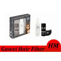 Wholesale Flexible Instant Hair Building Fiber Brown Color With Spray Applicator from china suppliers
