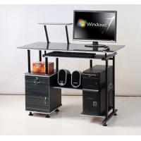 Wholesale Black Wooden Office Desks Standing Melamine For Students Computer DX-087 from china suppliers