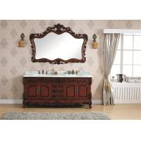 Wholesale Classic Fashion Sanitary Cabinet Solid Wood Freestanding Bathroom Furniture Floor Stand from china suppliers