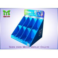 China Blue Carton Cardboard Display Cases For Christmas Card , Hand Cream , Shampoo on sale