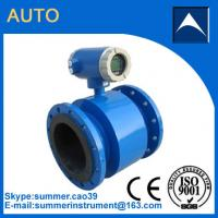 Wholesale Electromagnetic flow meter used in diary efflent with resonable price from china suppliers