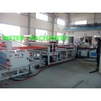Wholesale PVC Corrugated Roof Sheeting Machine , Corrugated Roofing Sheet Making Machine from china suppliers
