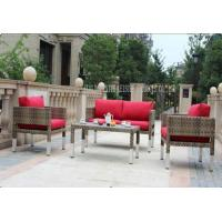 Wholesale 4 Piece Outdoor Wicker Furniture Sets , All Weather Rattan Garden Furniture from china suppliers