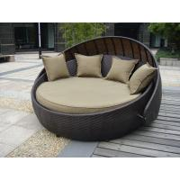 Wholesale Indoor Office / Home Resin Wicker Daybed With Aluminium Frame from china suppliers