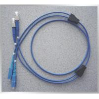 Wholesale Flexible Armoured Blue 6mm (12core) Diameter Singlemode Optical Fiber Patch Cord Gray from china suppliers