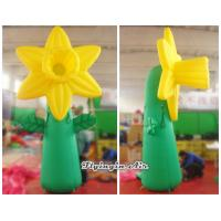 Wholesale 4m Giant Decorative Inflatable Stand Flower for Event and Arboretum Decoration from china suppliers