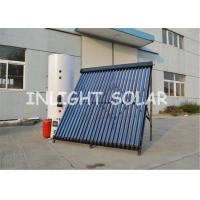Wholesale Food Grade High Pressure Solar Water Heater , 400 L Dual Coil Solar Split System from china suppliers