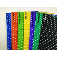 Wholesale Deep Purple Black Coloured Corrugated Sheets , Round White Dots  Corrugated Wrapping Paper from china suppliers