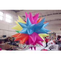 Wholesale Multi-color Inflatable Light Ball, Inflatable Led Star for Trade Show Deocr from china suppliers