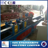 Quality Hydraulic System CNC Roll Forming Machine,Pu Door Making Machine 13 Roller Station for sale