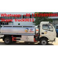 Wholesale factory sale dongfeng fuel tank truck with competitive price, 2017s best price CLW 5000Liters oil dispensing truck from china suppliers