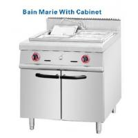 Wholesale 304# S S Bain Marie countertop gas deep fryer with cabinets from china suppliers