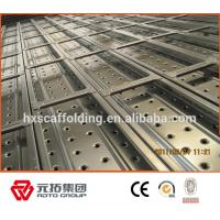 Wholesale New Catwalk Scaffolding Metal Planks with Hook 50mm or 43mm from china suppliers
