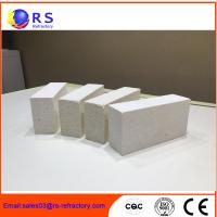 Wholesale Corundum Mullite Refractory fire resistant bricks for Industrial Kiln , Excellent Heat Insulation from china suppliers