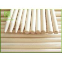 Wholesale Recycled Magnum Ice Cream Stick , Long Round Popsicle Sticks For BBQ Camping from china suppliers